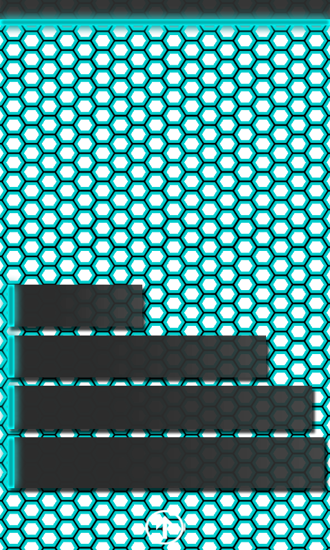 knightmaere77_tron_hex_teal_wp7_wallpaper